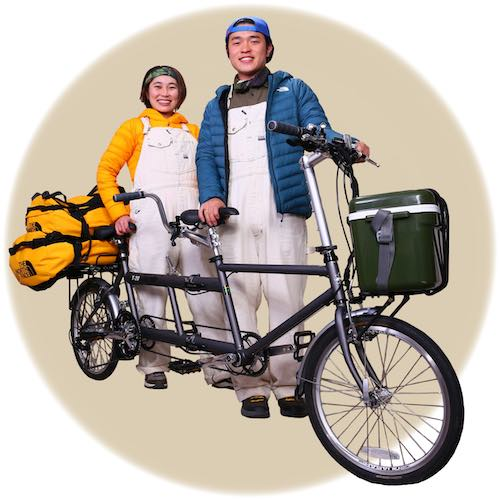 トレートペリピ-タンデム自転車